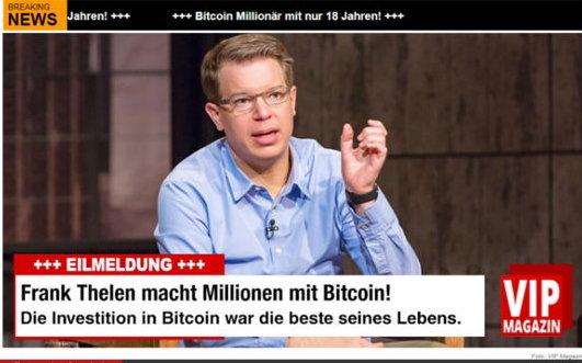 Frank Thelen Bitcoin