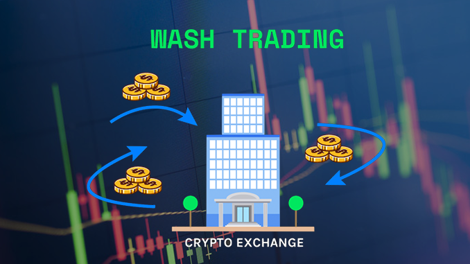 wash trading cryptocurrency