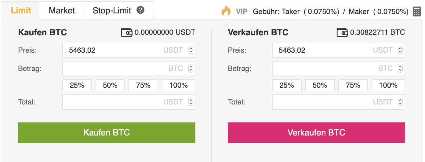 Brauche ich usdt, um Bitcoin zu kaufen