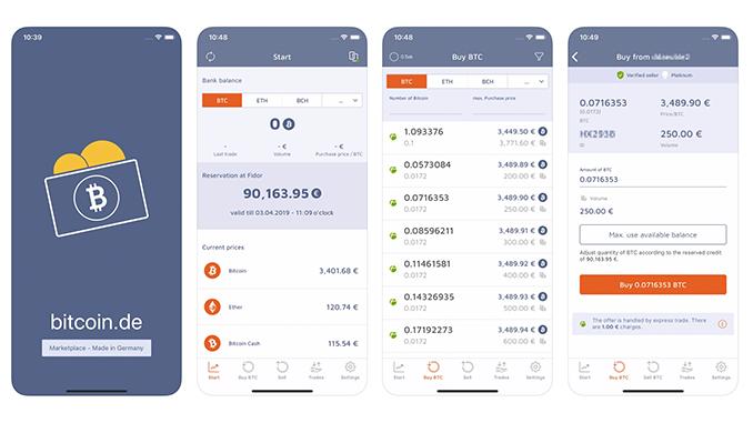 Bitcoin.De App