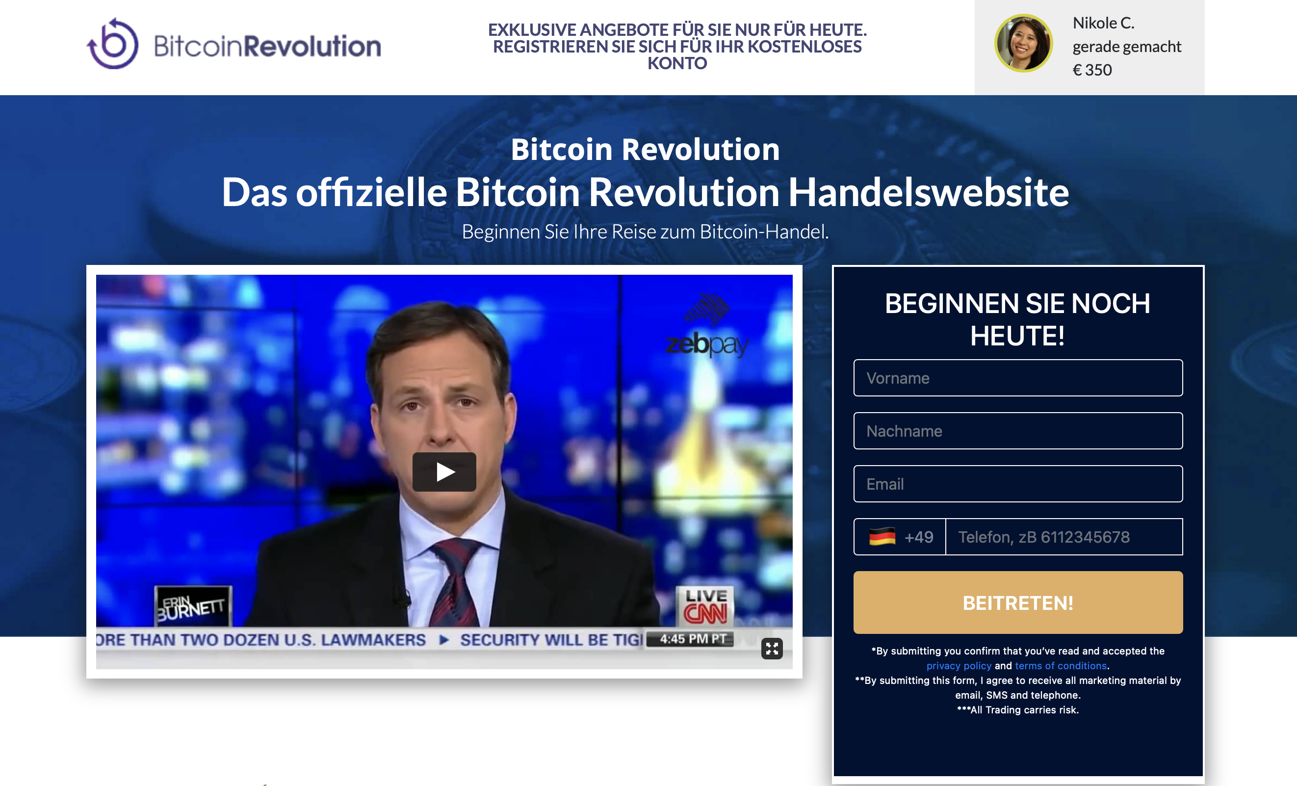 bitcoin revolution abmelden miglior posto per vendere bitcoin con profitto negli italia warren bfufet investe segretamente in criptovaluta